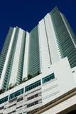 Edifício elevado de Miami da ascensão Foto de Stock