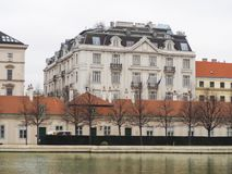 Edifício em Europa Imagem de Stock Royalty Free