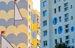 Edifício em Gdansk. Fotografia de Stock