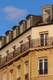 Edifício em Paris Imagens de Stock Royalty Free