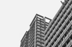 Edifício em preto e branco Imagem de Stock Royalty Free