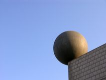 Edifício estranho em Barcelona Foto de Stock