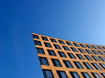 Edifício futurista foto de stock
