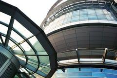 Edifício futurista imagens de stock royalty free