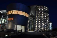 Edifício futurista Fotos de Stock Royalty Free