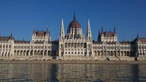 Edifício húngaro do parlamento em Budapest Foto de Stock