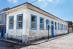 Edifício histórico em Laguna foto de stock