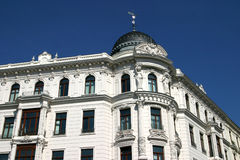 Edifício histórico em Leipzig Fotografia de Stock Royalty Free