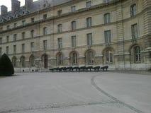 Edifício histórico em Paris imagens de stock