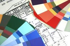 Edifício Home novo Imagens de Stock