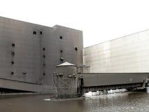 Edifício industrial fotografia de stock