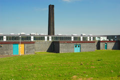 Edifício industrial Foto de Stock Royalty Free