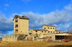 Edifício industrial abandonado Imagem de Stock