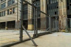 Edifício industrial abandonado fotos de stock royalty free