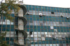 Edifício industrial velho Foto de Stock Royalty Free