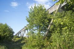Edifício industrial velho Fotos de Stock