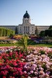 Edifício legislativo de Saskatchewan fotografia de stock