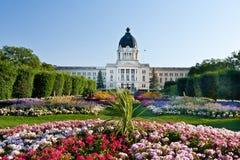 Edifício legislativo de Saskatchewan imagem de stock