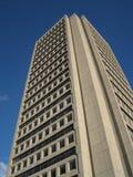 Edifício Marie-Guyart em Quebec City imagens de stock royalty free