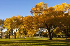 Edifício memorável em Saskatoon, Canadá imagens de stock royalty free