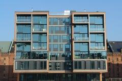 Edifício moderno Fotos de Stock Royalty Free