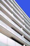 Edifício moderno branco Imagens de Stock Royalty Free