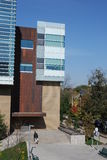 Edifício moderno da ciência da universidade Foto de Stock Royalty Free