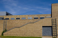 Edifício moderno da universidade Imagens de Stock