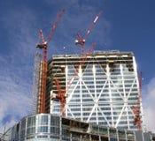 Edifício moderno de Consrtuction Fotos de Stock Royalty Free