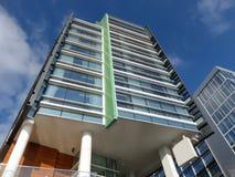 Edifício moderno do hotel Imagem de Stock Royalty Free