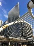 Edifício moderno em Banguecoque Fotografia de Stock