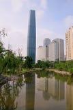 Edifício moderno em Guangzhou Imagem de Stock Royalty Free