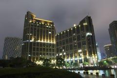 Edifício moderno em Shanghai Fotos de Stock Royalty Free