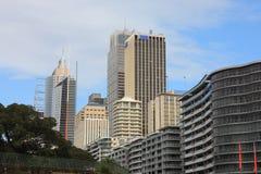 Edifício moderno em sydney Foto de Stock Royalty Free