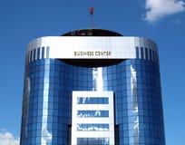 Edifício moderno futurista Imagens de Stock Royalty Free