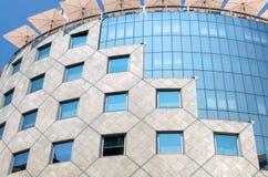 Edifício moderno incomun Imagem de Stock Royalty Free