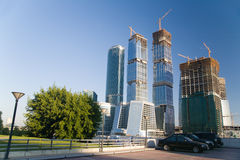 Edifício moderno Não-Terminado Imagem de Stock