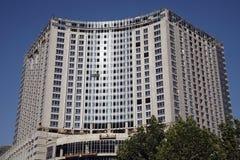 Edifício moderno sob a construção. Imagens de Stock Royalty Free