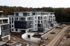 Edifício moderno sob a construção Foto de Stock