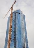Edifício moderno sob a construção Imagens de Stock Royalty Free