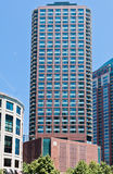 Edifício moderno típico em Chicago fotos de stock royalty free