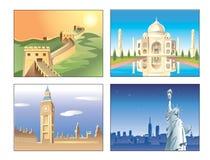 Edifício mundialmente famoso Fotos de Stock Royalty Free