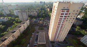 Edifício na avenida de Rokossovsky Imagens de Stock Royalty Free