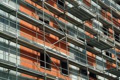 Edifício na construção Fotos de Stock Royalty Free