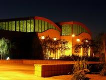 Edifício na luz do Pre-Dawn Imagem de Stock Royalty Free
