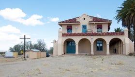 Edifício no deserto Foto de Stock Royalty Free