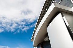 Edifício no estilo da arquitetura do moder Foto de Stock Royalty Free