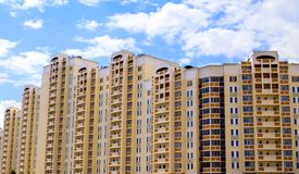 Edifício novo Fotos de Stock Royalty Free