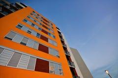 Edifício novo para o habitation Imagens de Stock