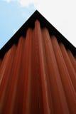 Edifício oxidado imagens de stock royalty free